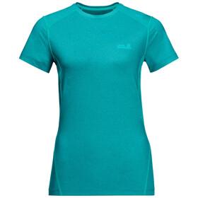 Jack Wolfskin Sky Flex T-Shirt Femme, aquamarine